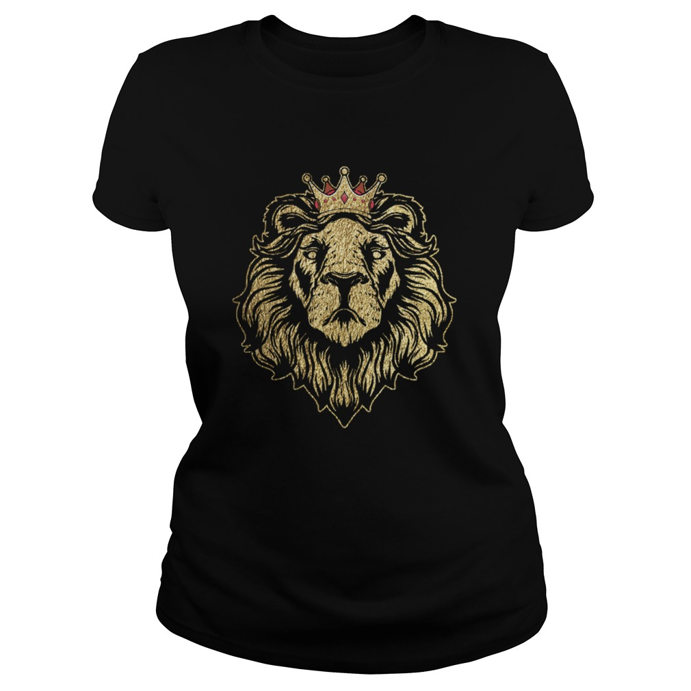 Gold King Lion Crown  Classic Ladies
