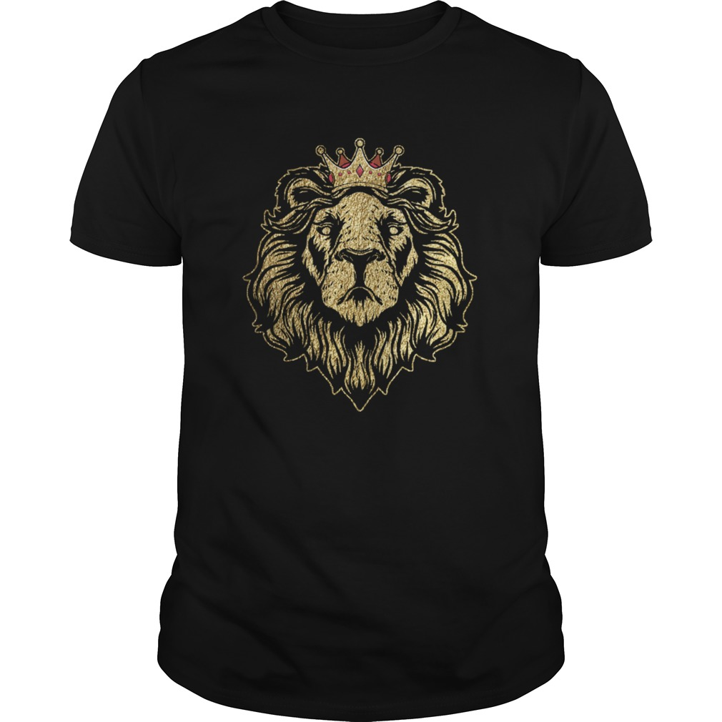 Gold King Lion Crown  Unisex