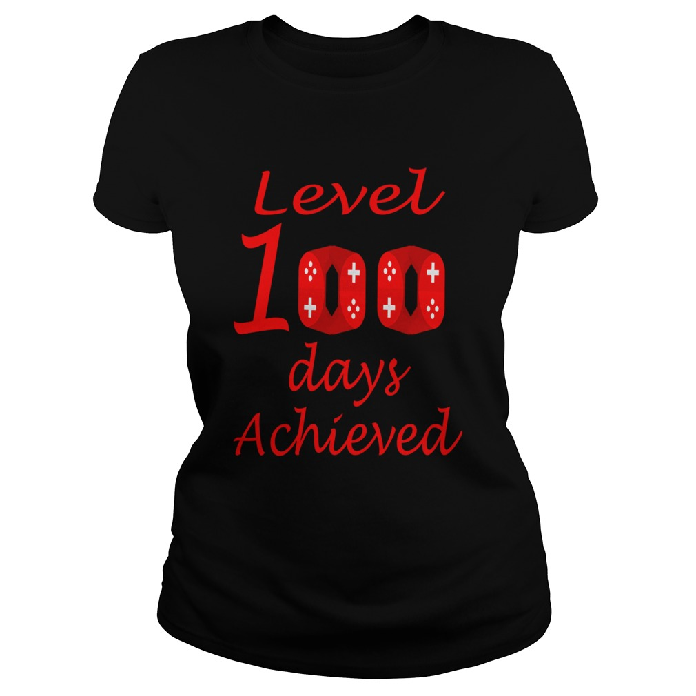 Happy 100th Day of School for Teacher or Child  Classic Ladies