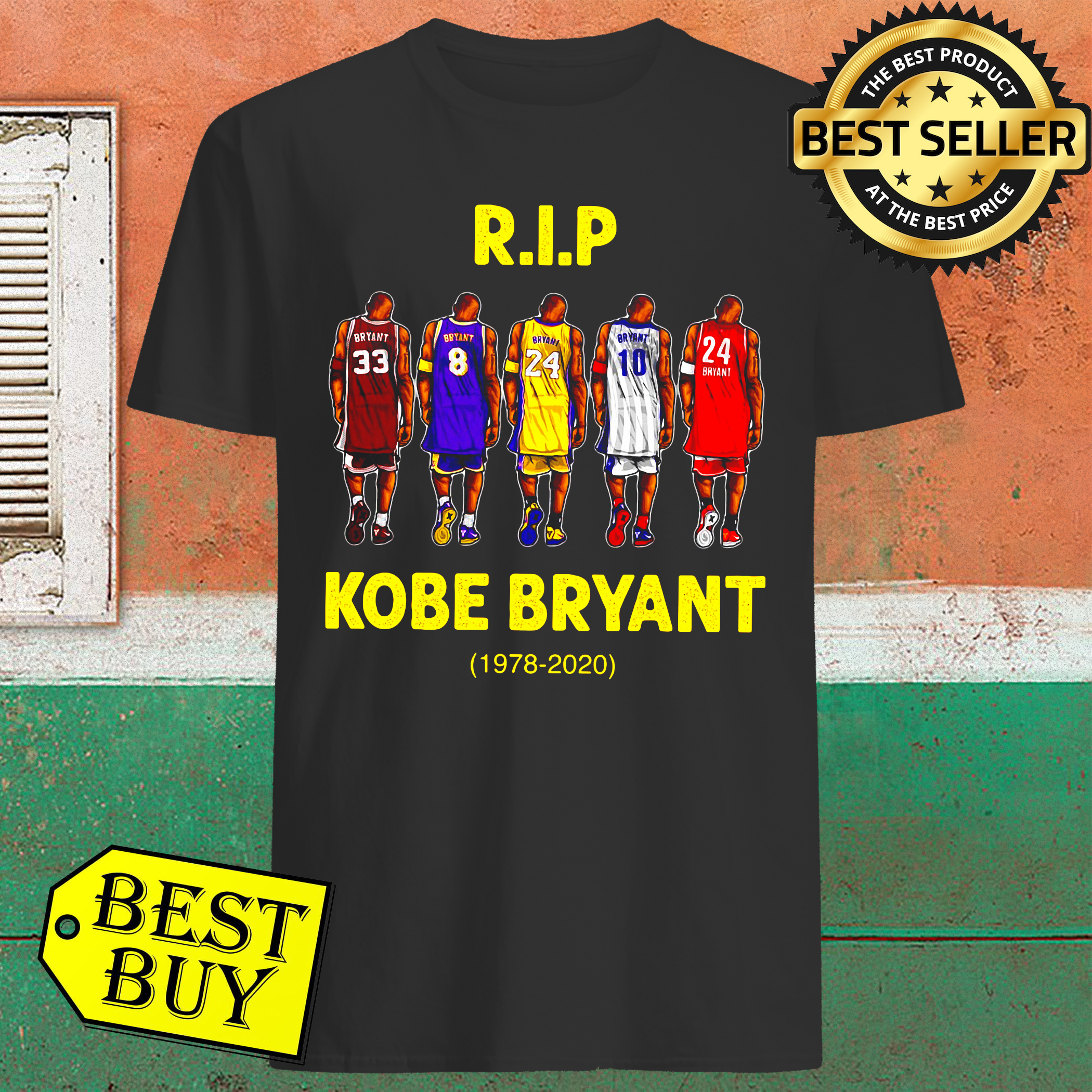 Rip Kobe Bryant greatest of all time 1978-2020 Shirt