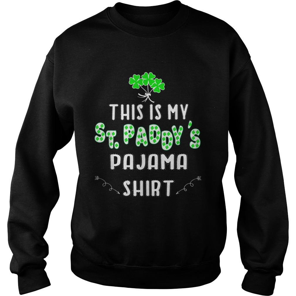 St Patrick/'s Day Sweater Hoodie Crew Long Sleeve Show Me Your Shamrocks