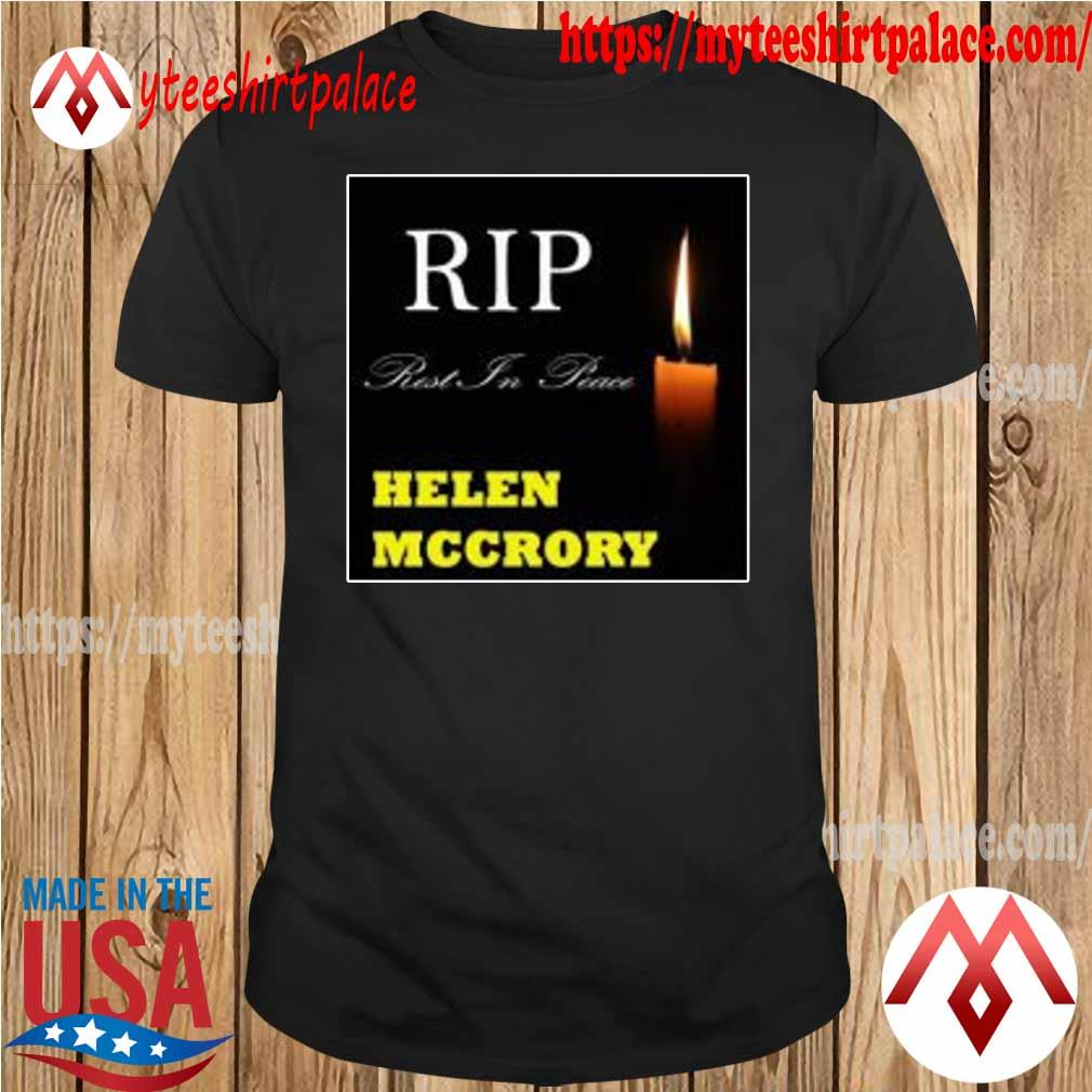 Official RIP Helen McCrory Rest In Peace T-Shirt