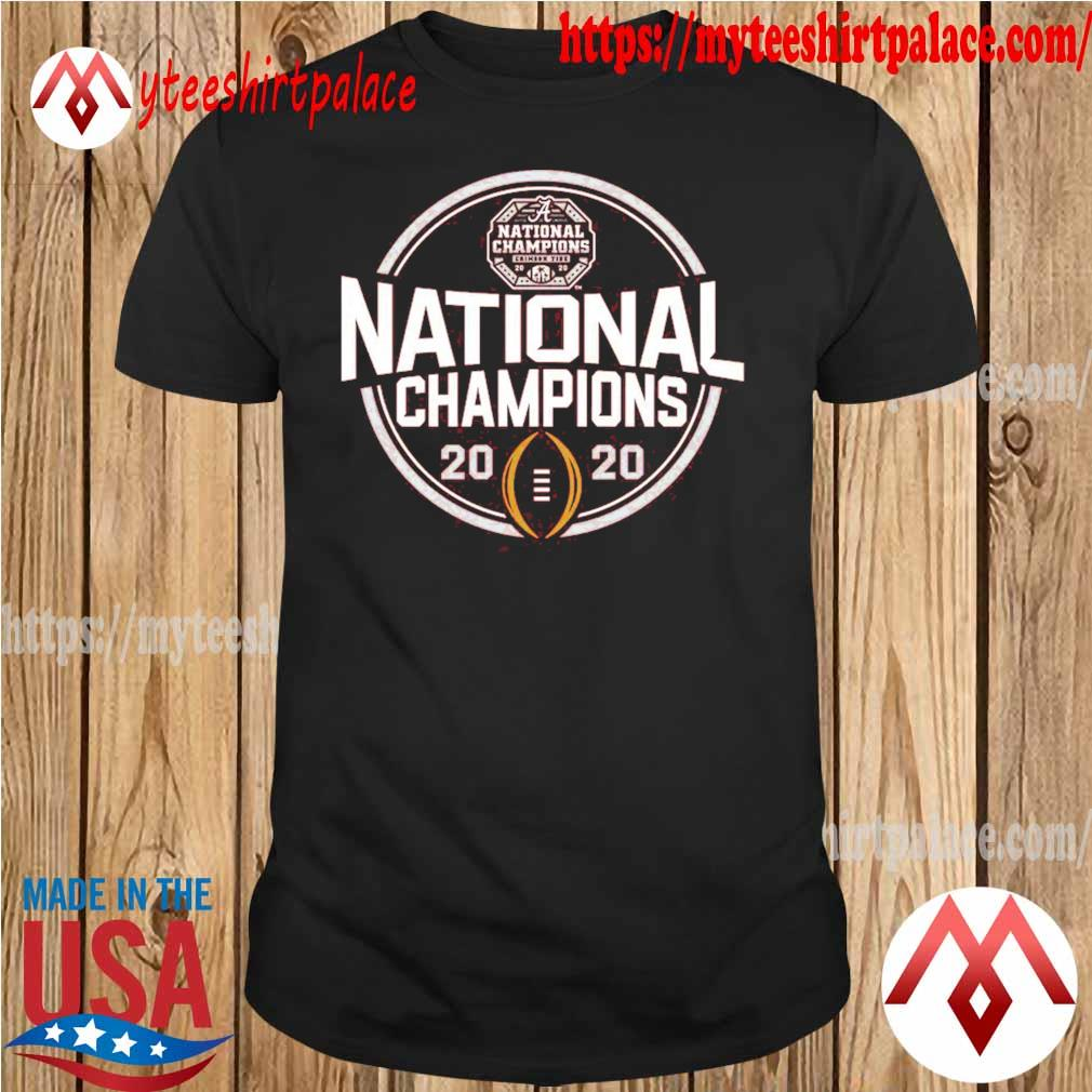 Alabama Crimson Tide Blue 84 Youth College Football Playoff 2020 National Champions Schedule T-Shirt