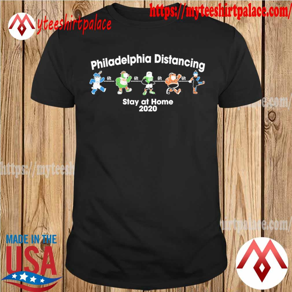 Bear Deadhead Philadelphia Distancing 6ft stay at home 2020 shirt