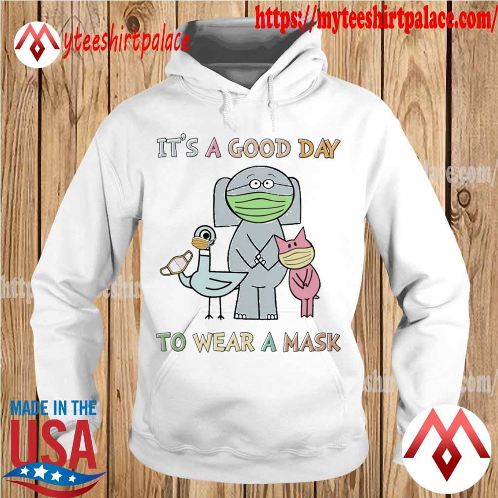Elephant and Piggie and Duckling it;s a good day to wear a mask s hoodie