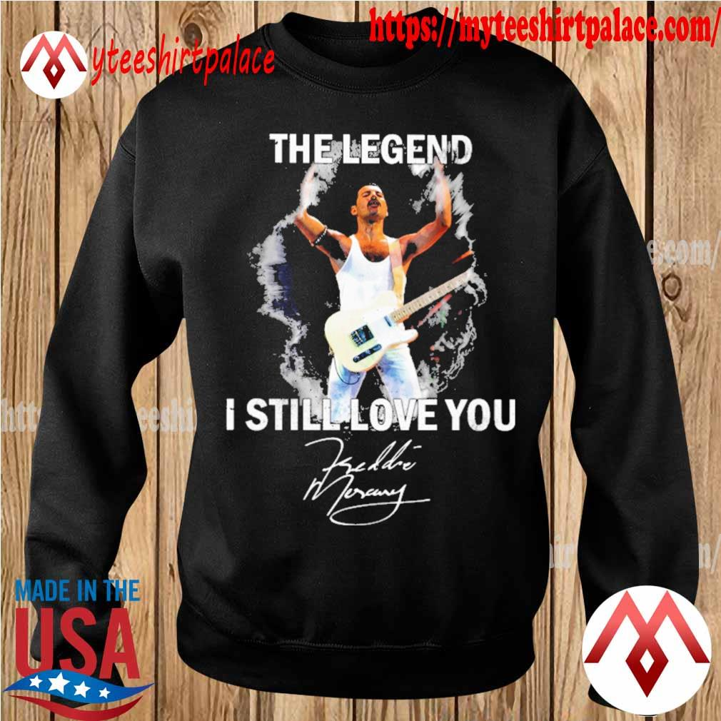 Freddie Mercury The legend I still love You signature s sweater