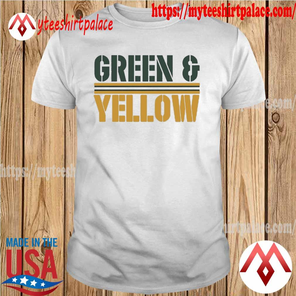 Green Bay Packers and Yellow Shirt