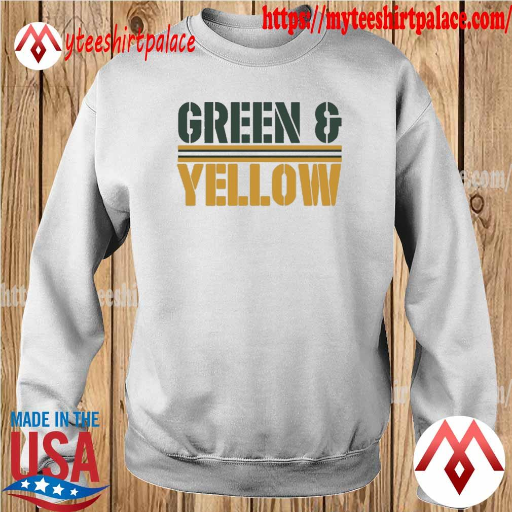 Green Bay Packers and Yellow Shirt sweater