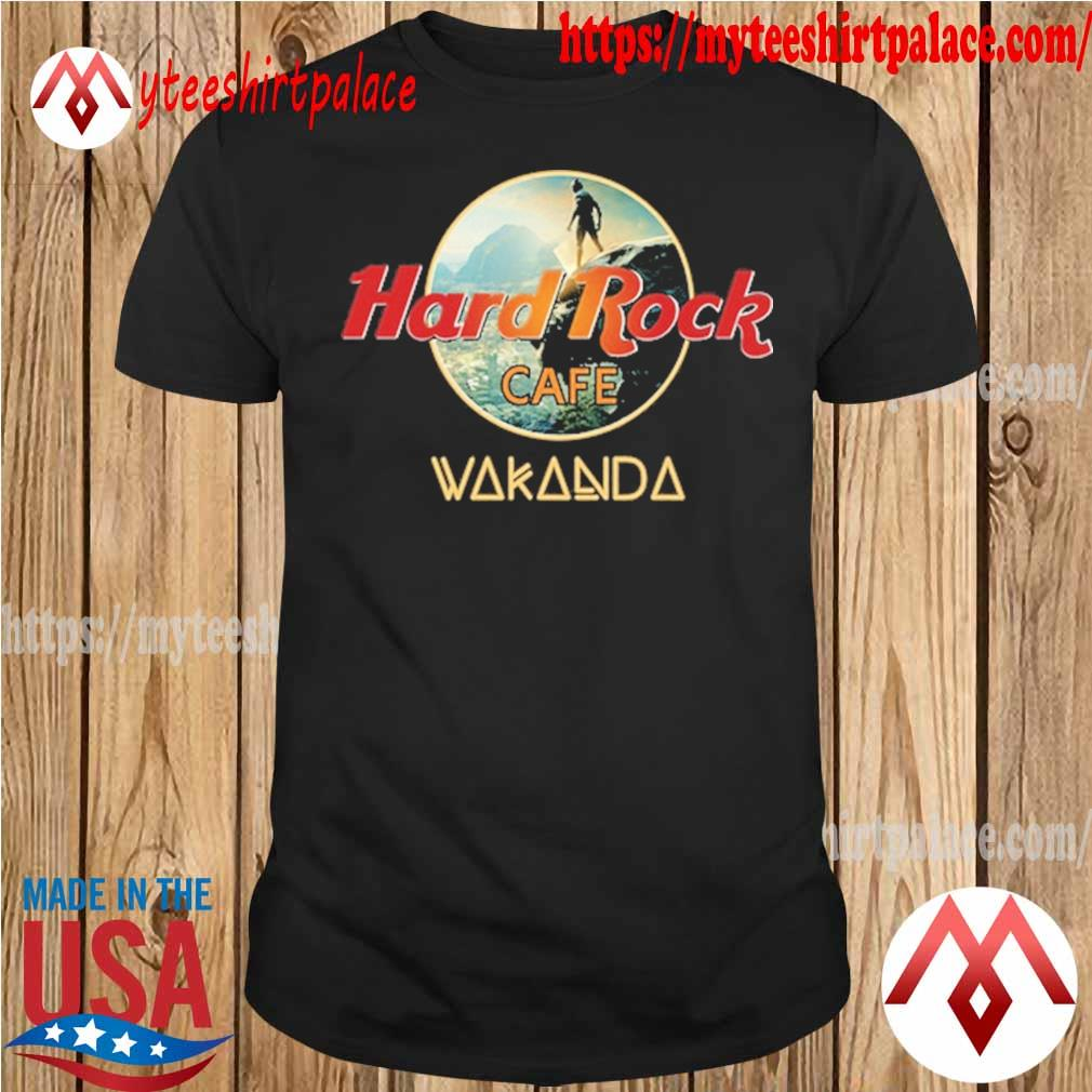 Hard Rock cofe Wakanda King shirt
