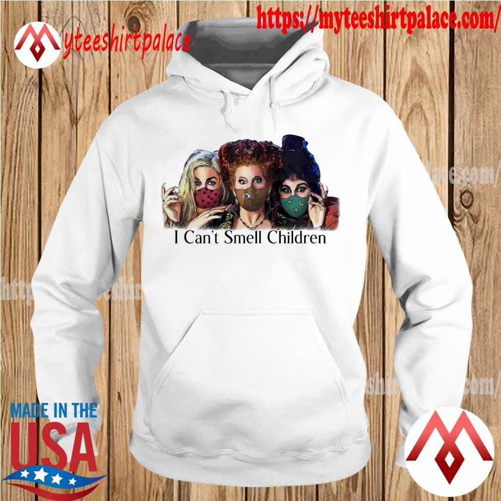 Hocus Pocus face mask I can't smell Children s hoodie