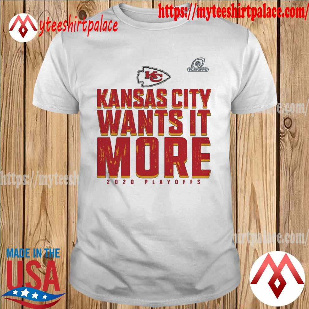 Kansas City Chiefs Wants It More 2020 Playoffs shirt
