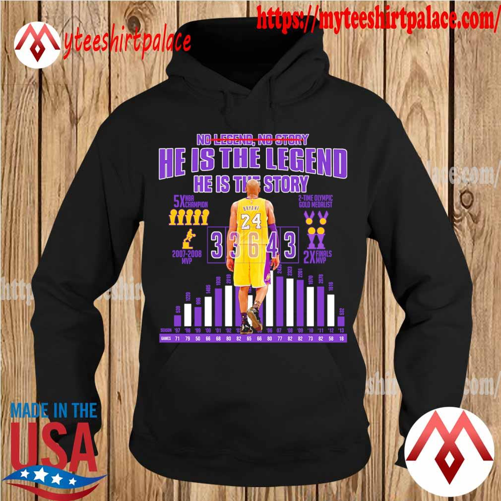 Kobe Bryant so story he is the legend he is the story s hoodie