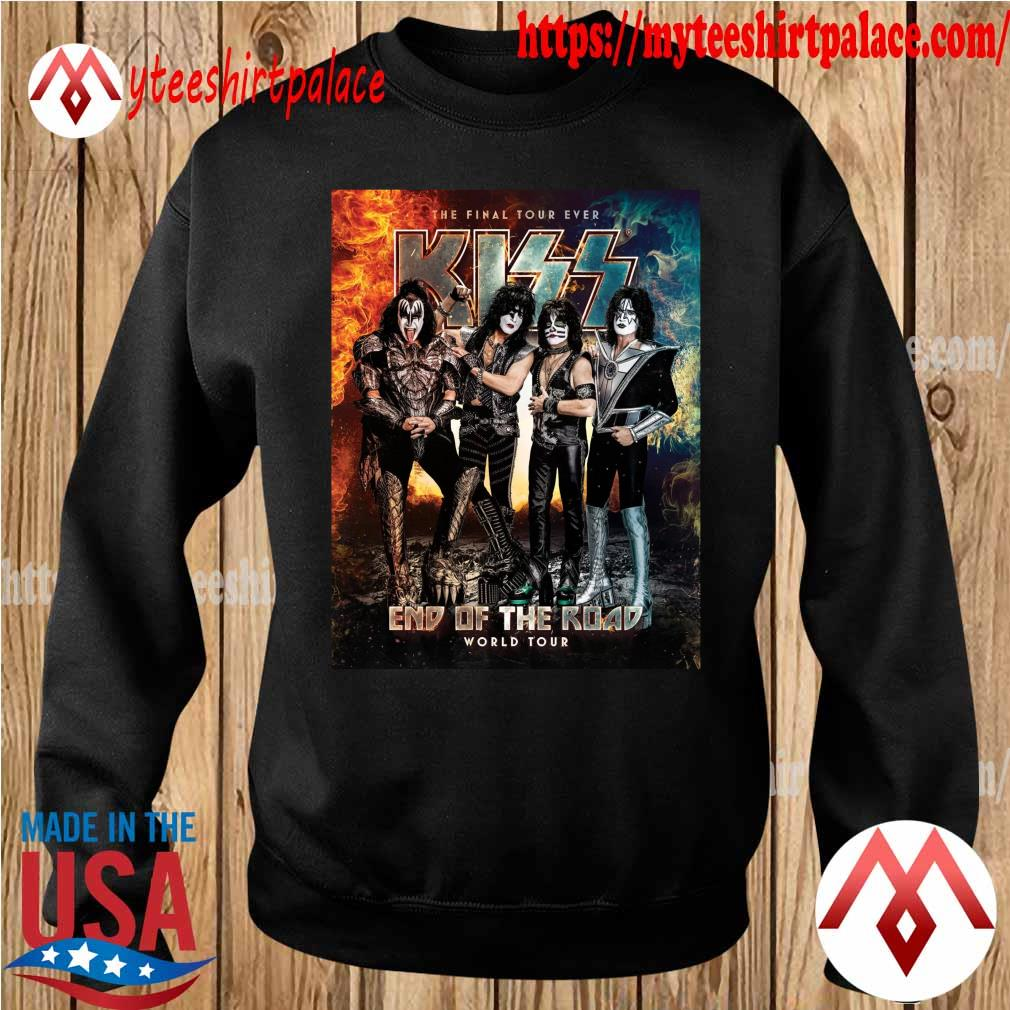 Official Kiss Band end of the Road world Tour 2021 s sweater