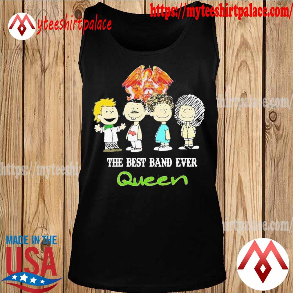 Queen The peanuts character the best band ever shirt