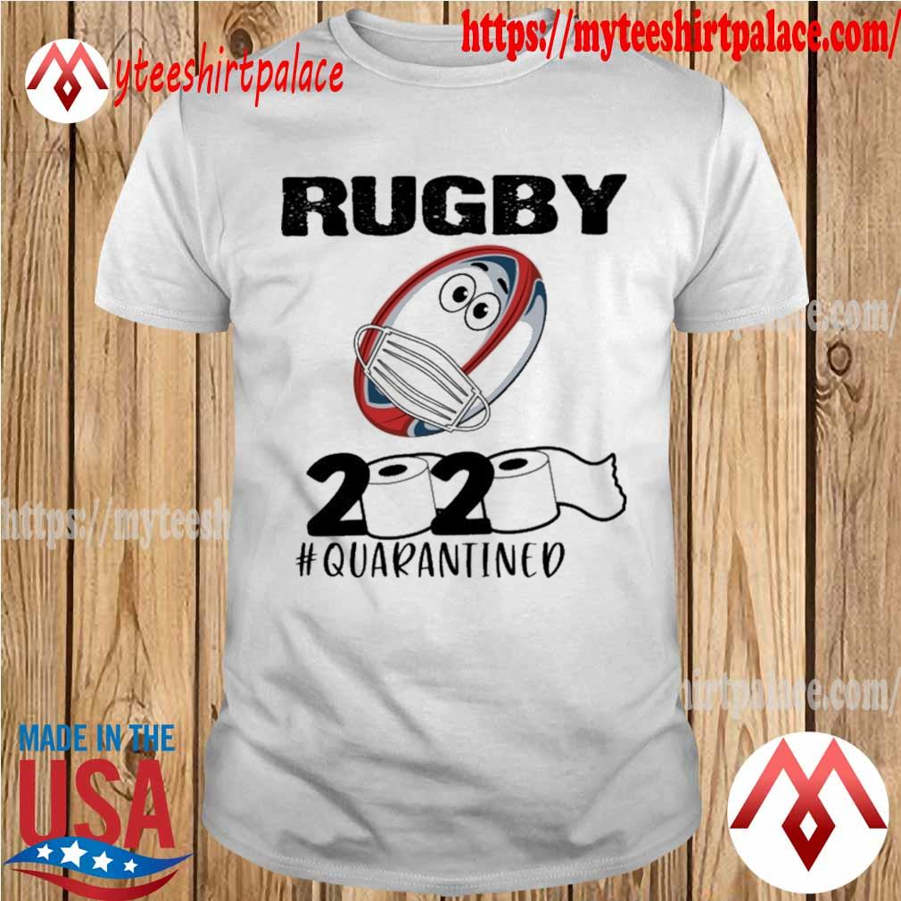 Rugby face mask 2020 #quarantined shirt