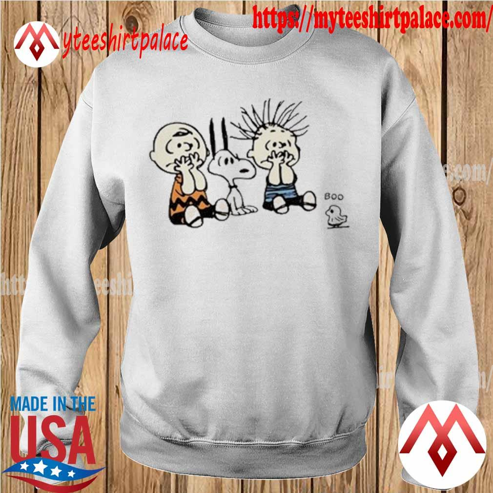 Snoopy and Charlie and Linus van Pelt Boo Halloween s sweater