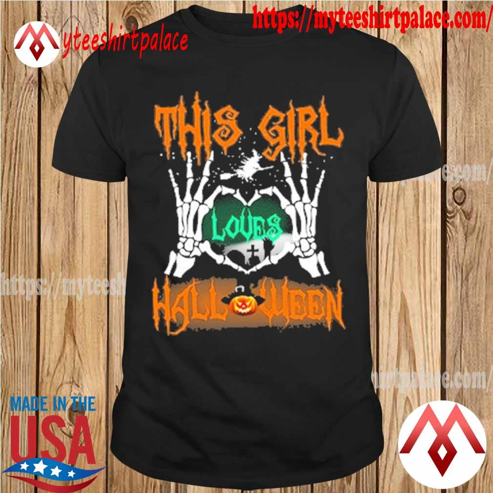 This Girl Loves Halloween shirt