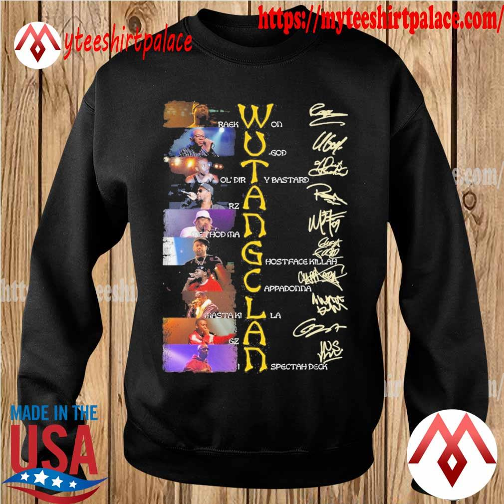 Wu Tang Clan character signature s sweater