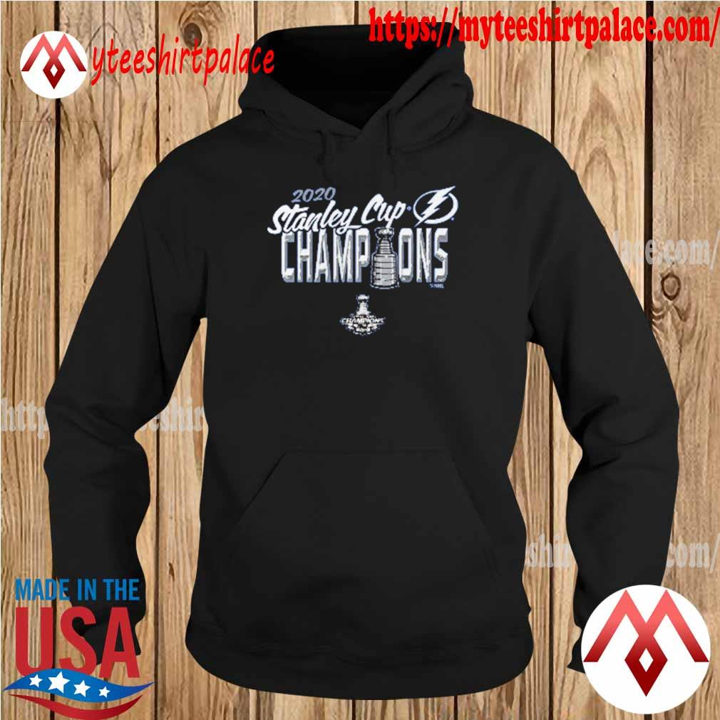 Youth Girl's Tampa Bay Lightning 2020 Stanley Cup Champions Script Winner T-s hoodie